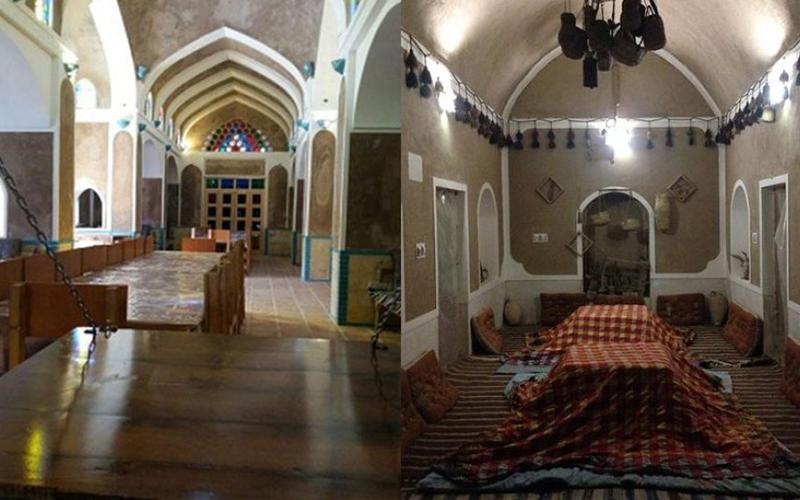 اقامتگاه بومگردی کاریز کویر مصر