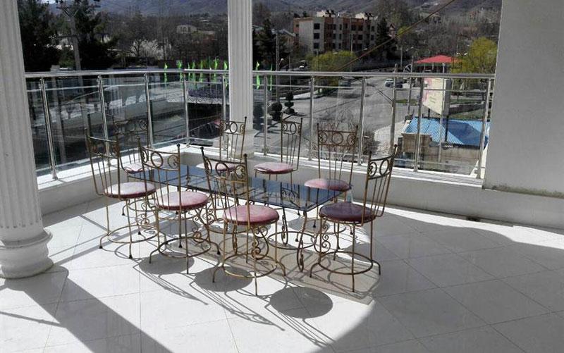 هتل گلستان قمصر کاشان