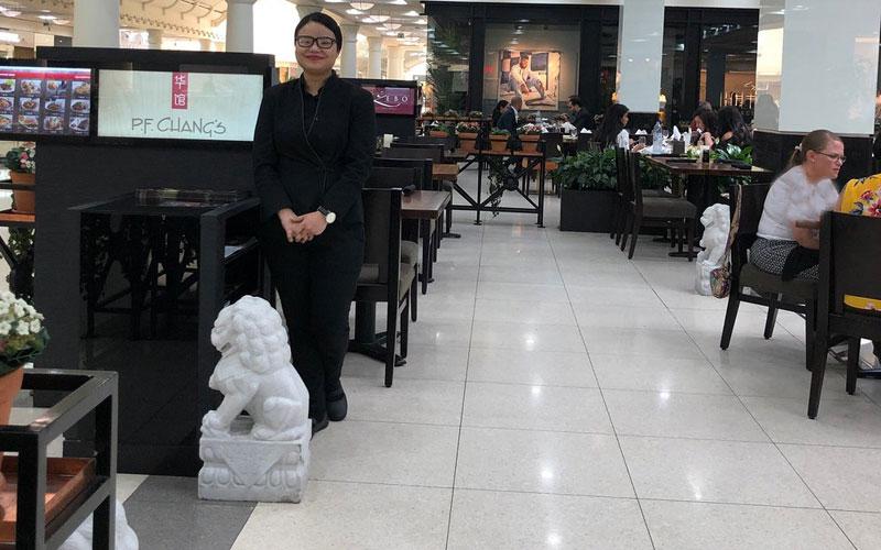 رستوران پی اف چانگز دبی