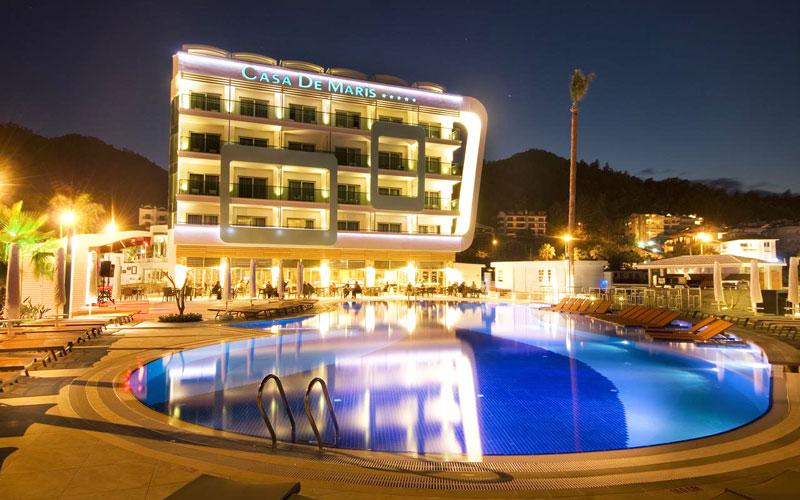 هتل کاسا د ماریس اسپا اند ریزورت مارماریس