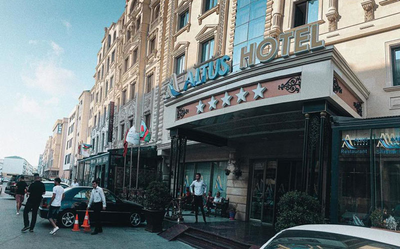 هتل آلتوس باکو