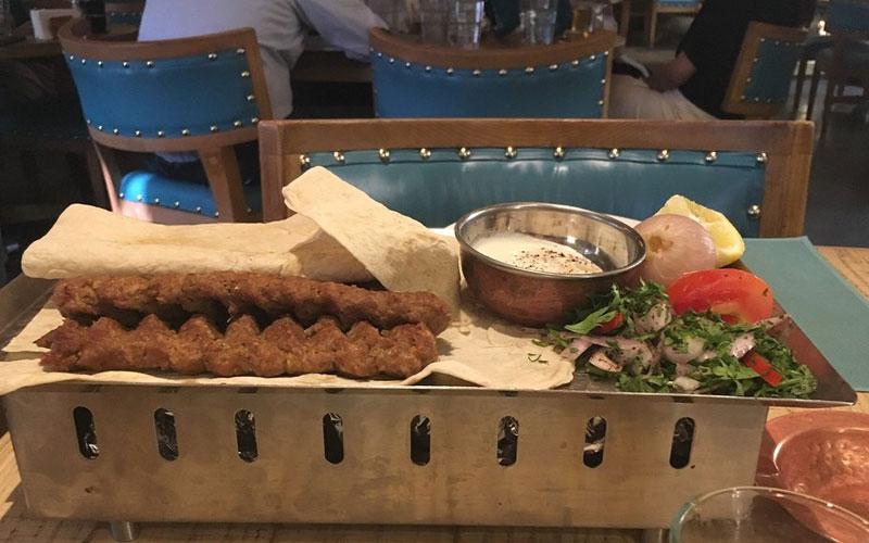 رستوران مزه هاوس دبی