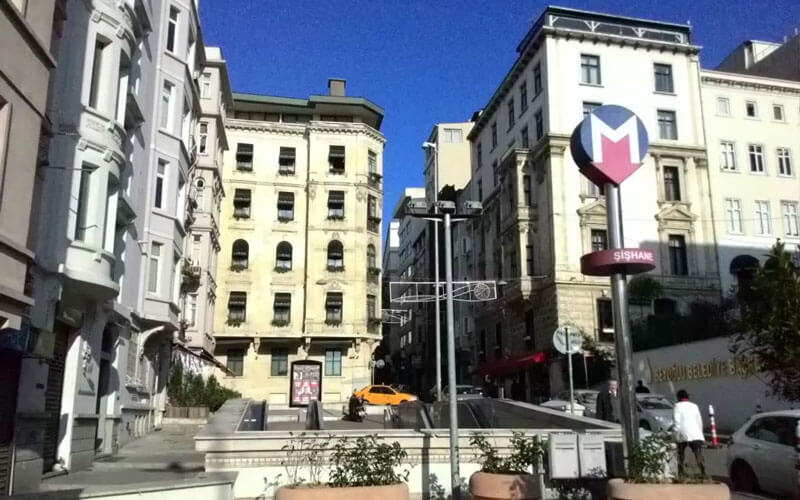 هتل Blue Istanbul Hotel Taksim