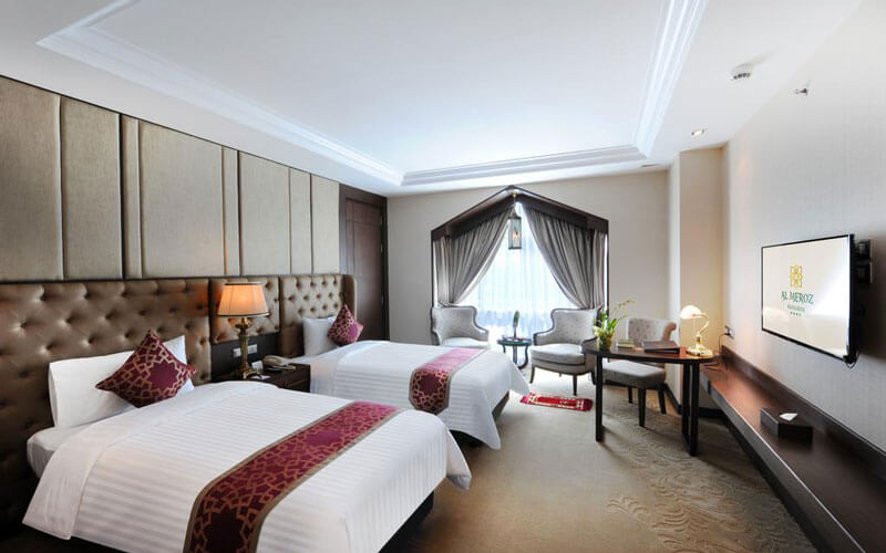 هتل Al Meroz Hotel Bangkok - The Leading Halal Hotel