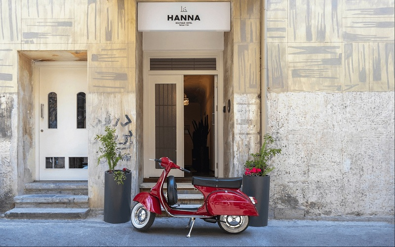 هتل بوتیک حنا تهران