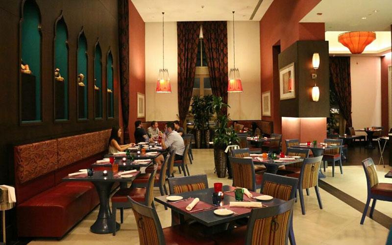 رستوران چور بازار دبی