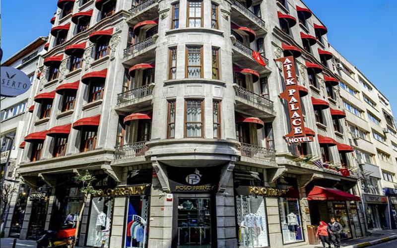 هتل آتیک پالاس استانبول