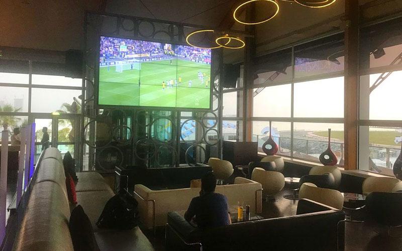رستوران زیرو گرویتی دبی